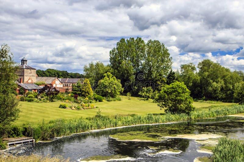 Clumber公园, Worksop,诺丁汉郡,英国 免版税图库摄影