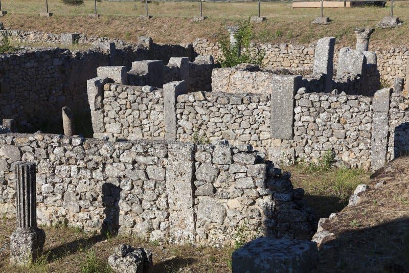 Clunia废墟  库存图片