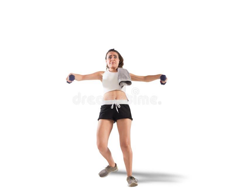 Clunky workout στοκ φωτογραφίες