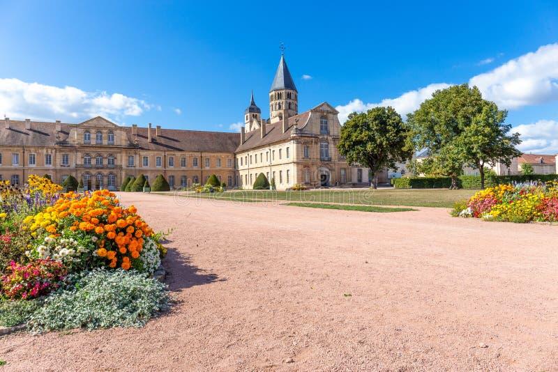 Cluny opactwo, Bourgogne, Francja fotografia royalty free