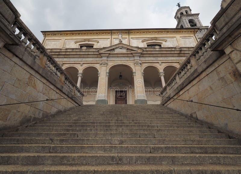 Clusonekerk, Bergamo, Lombardije, Italië royalty-vrije stock foto