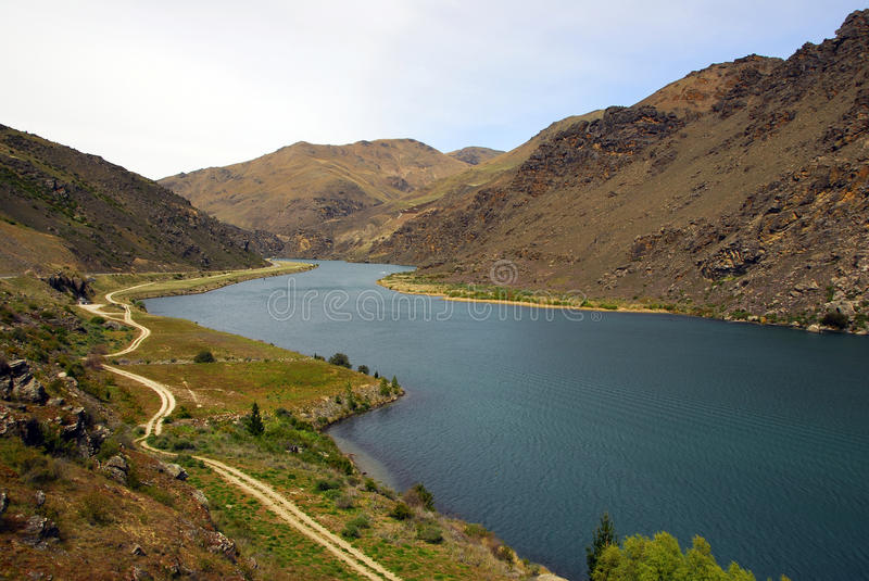Clutha River stock photo