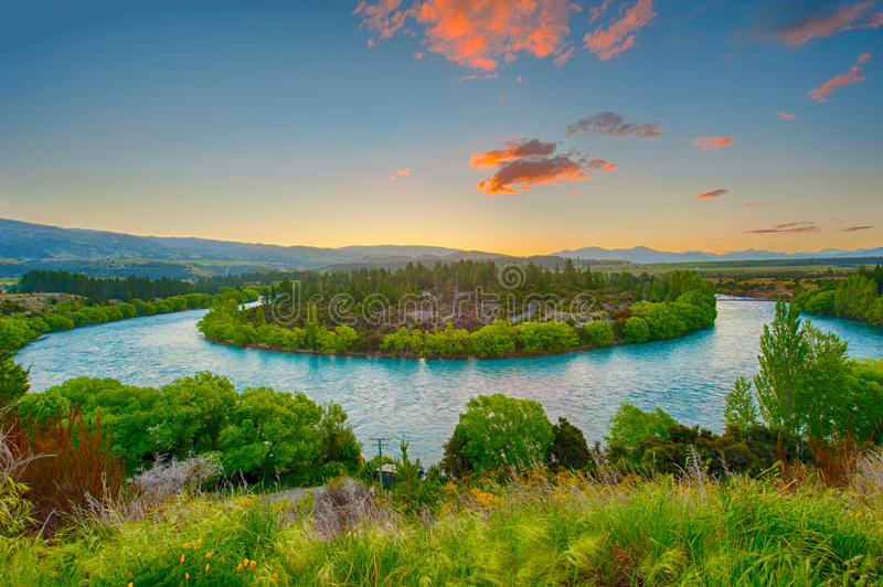 Clutha river royalty free stock images