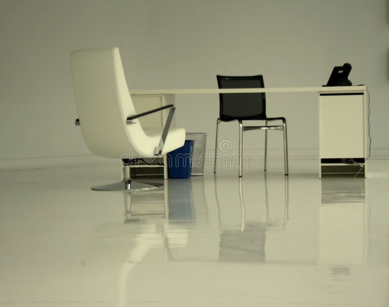 Clutter Free Office stock images