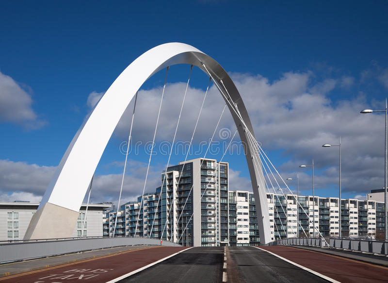 Clyde-Brücke lizenzfreies stockbild