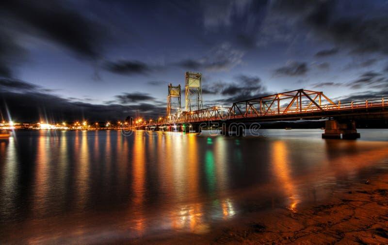 Clyde-Fluss-Brücke lizenzfreies stockfoto