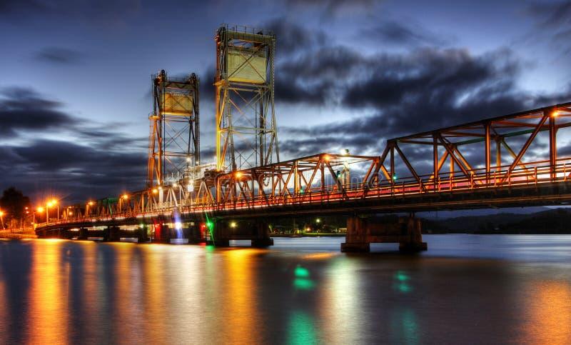 Clyde-Fluss-Brücke lizenzfreie stockbilder