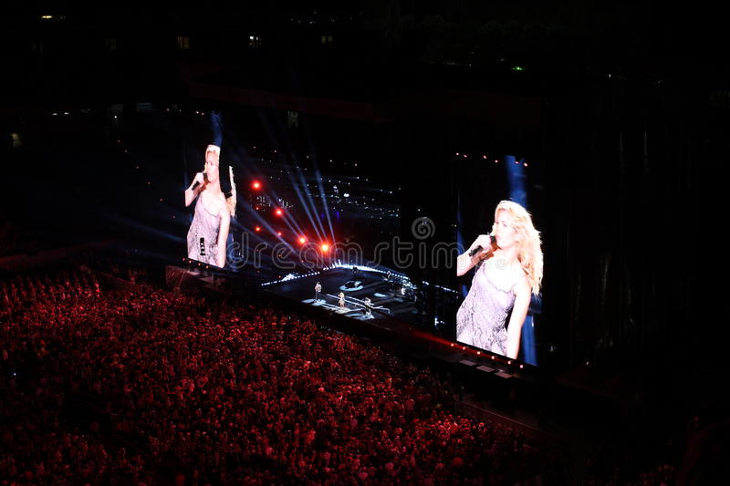 Cma country music fest in nashville stock photos