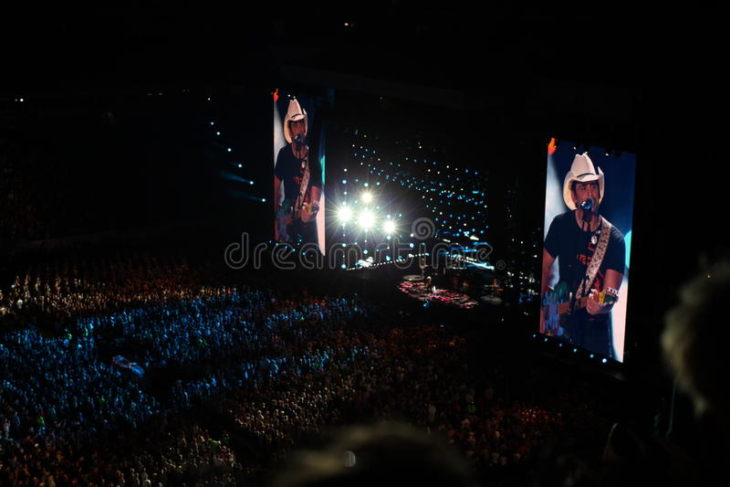 Cma countrymusikfest i nashville royaltyfria bilder