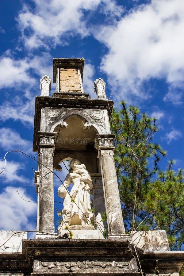 Cmentarniana statua obrazy stock