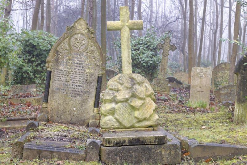 Cmentarniani doniosli kamienie, London fotografia royalty free