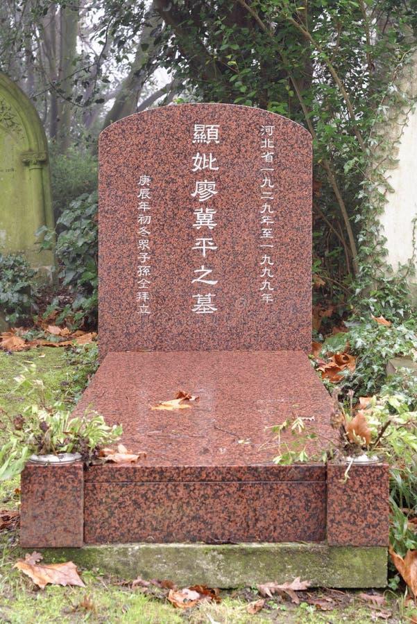 Cmentarniani doniosli kamienie, London zdjęcia royalty free