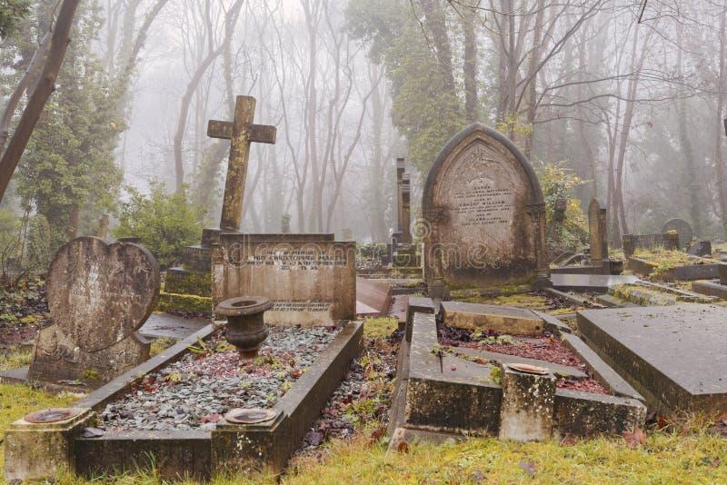 Cmentarniani doniosli kamienie, London obrazy stock