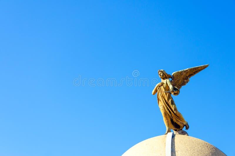 Cmentarniany anioł obrazy royalty free