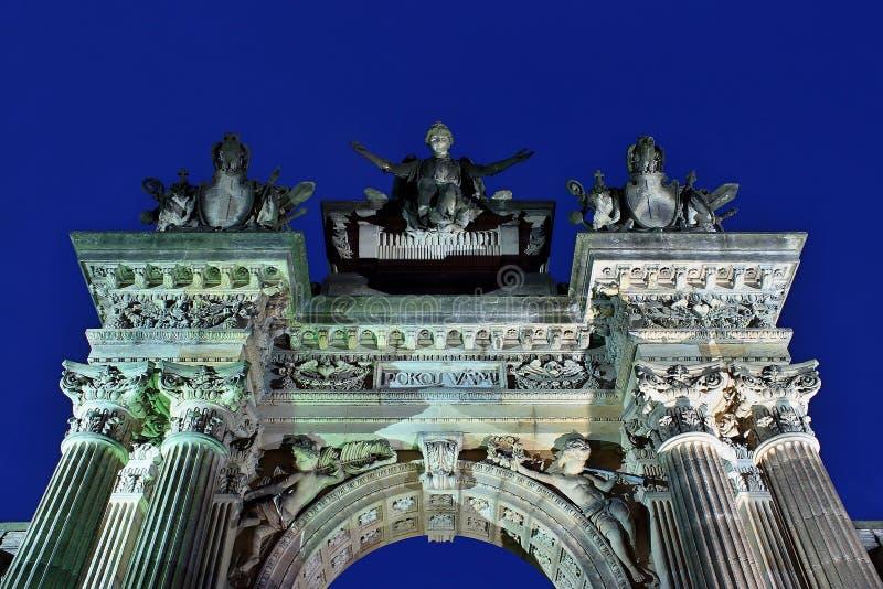 Cmentarniany portal zdjęcia stock