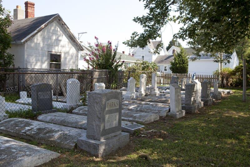 Cmentarz, Chesapeake obrazy royalty free