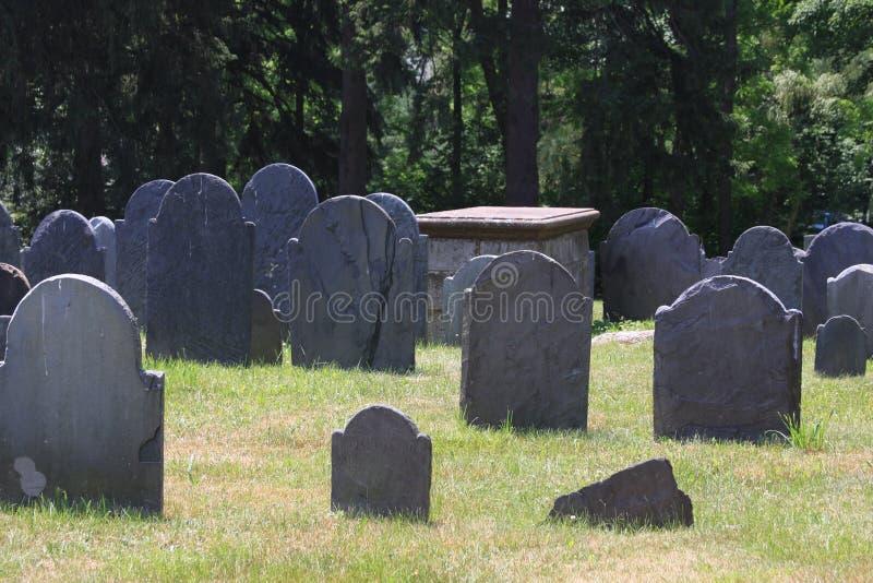 cmentarz stary fotografia stock