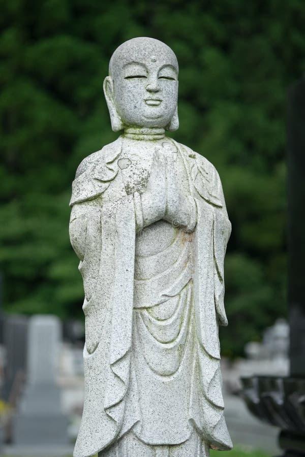 Cmentarz statua fotografia royalty free