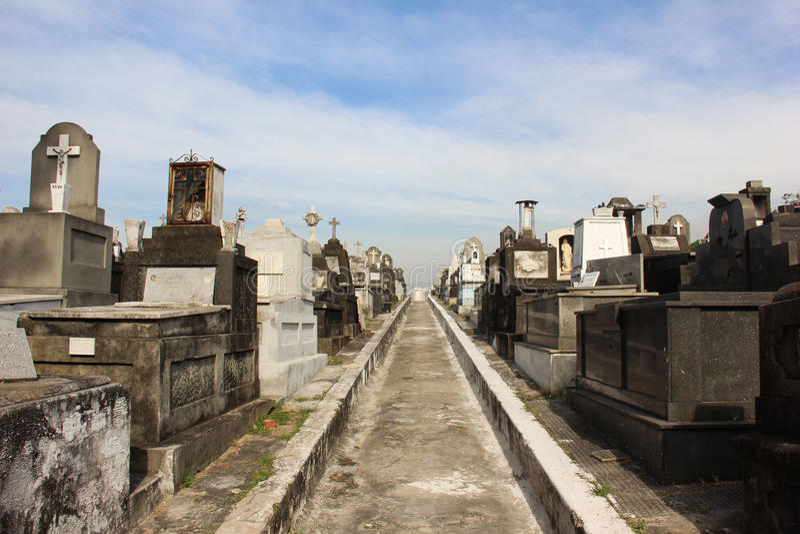 Cmentarz w Rio De Janeiro fotografia royalty free