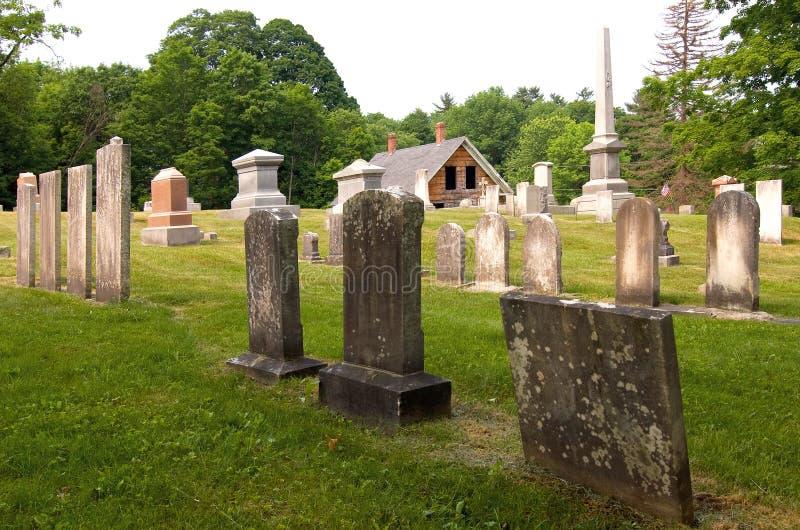 cmentarz wiejski fotografia stock