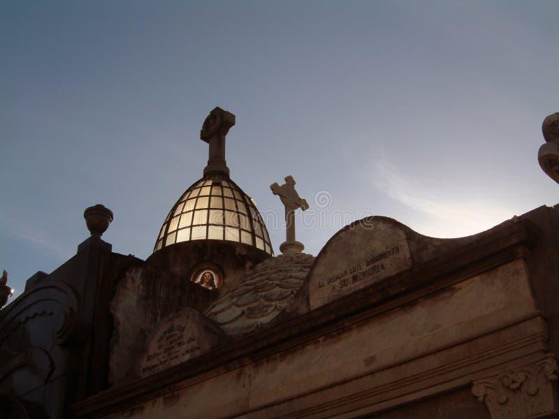 cmentarza la recoleta ii zdjęcie royalty free