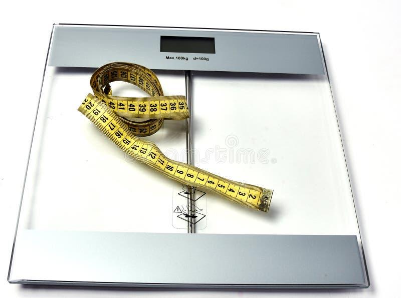 Cmet för viktkontroll, alla avgör för honom hur arkivbild