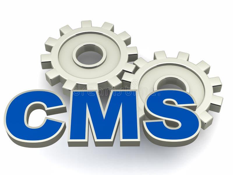 CMS διανυσματική απεικόνιση