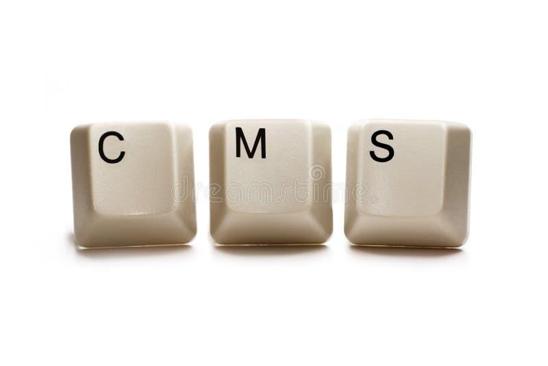 cms 免版税库存图片