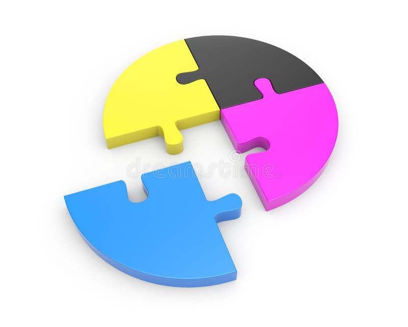 Download Cmyk概念 库存例证. 插画 包括有 油漆, 查出, 照片, 说明性, 开放, 图象, 难题, 蓝色, 颜色 - 15685879