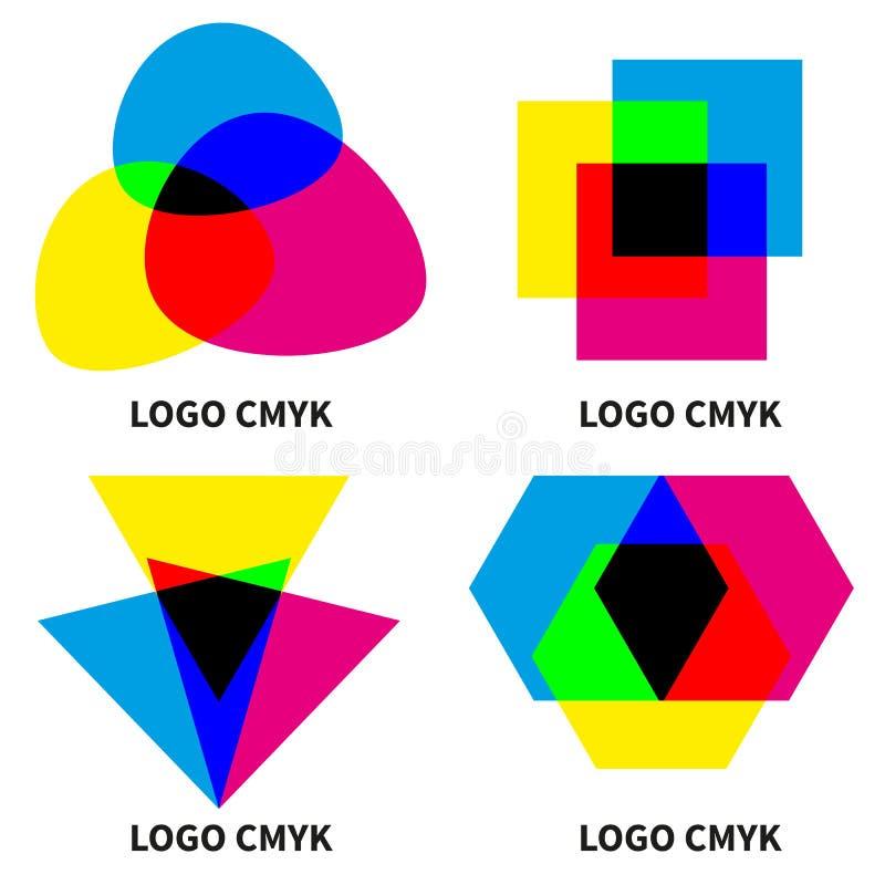 Cmyk και rgb διανυσματική απεικόνιση