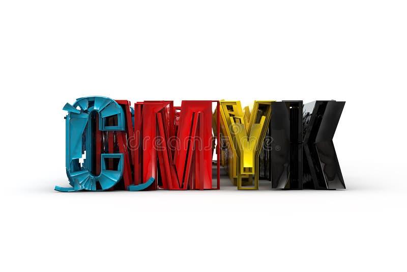 CMYK 库存照片