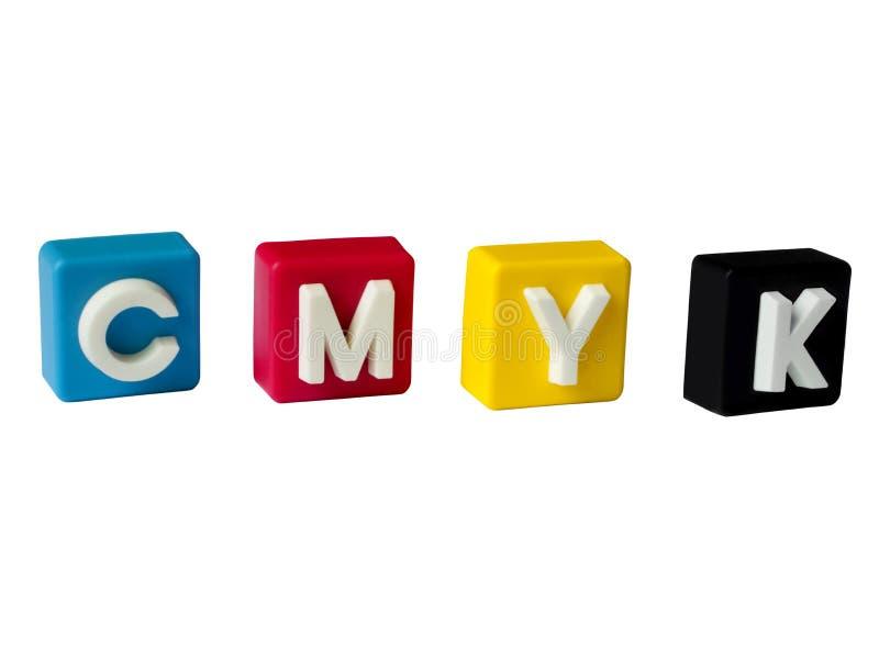 CMYK 免版税图库摄影