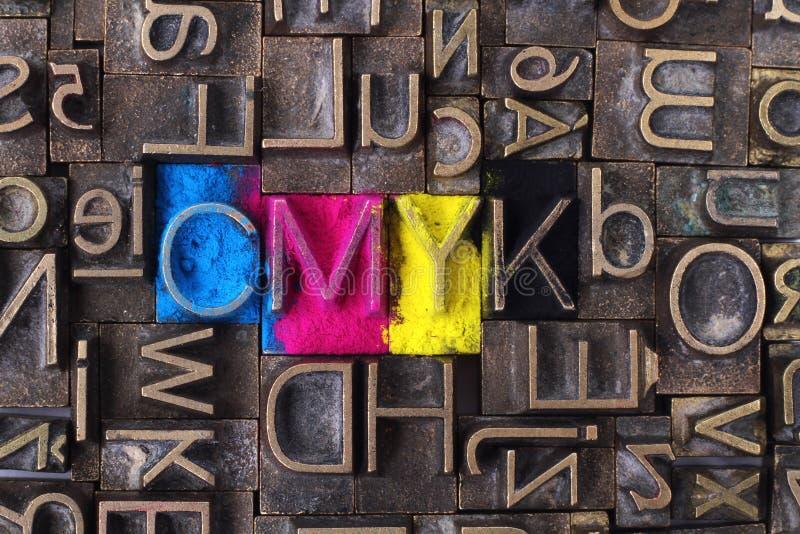 CMYK photo libre de droits