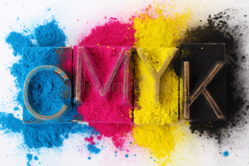 CMYK imagen de archivo
