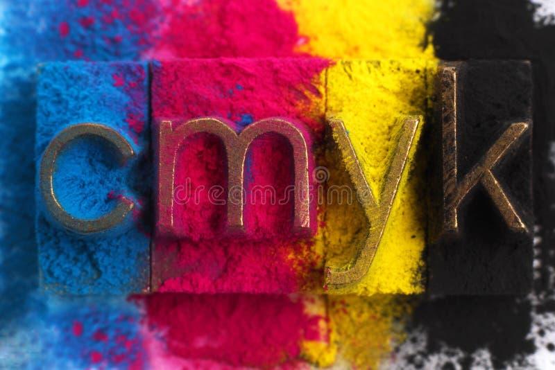 CMYK fotos de archivo