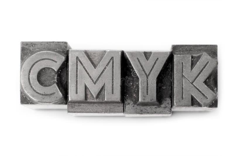 CMYK fotos de archivo libres de regalías