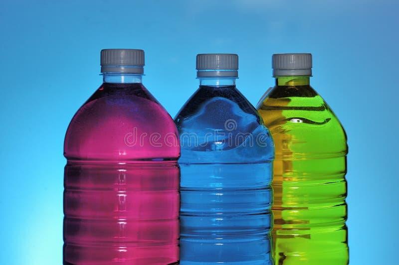 Cmyk in bottle royalty free stock photos