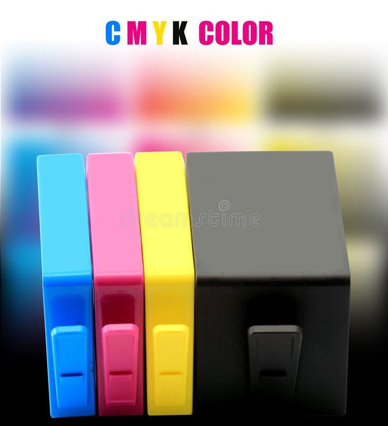 CMYK INK stock photography