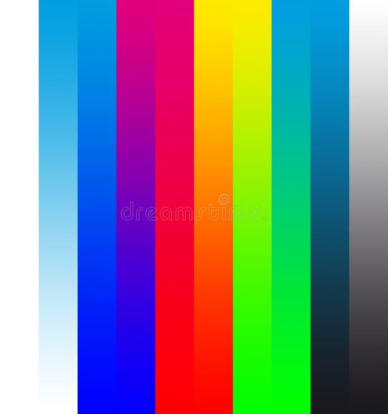 CMYK a RGB illustrazione vettoriale