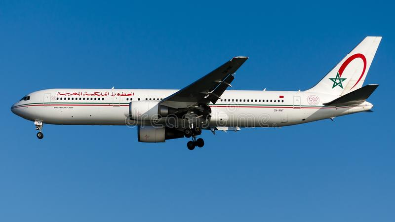 CN-RNT Royal Air Maroc, Boeing 767-300ER stockfotos