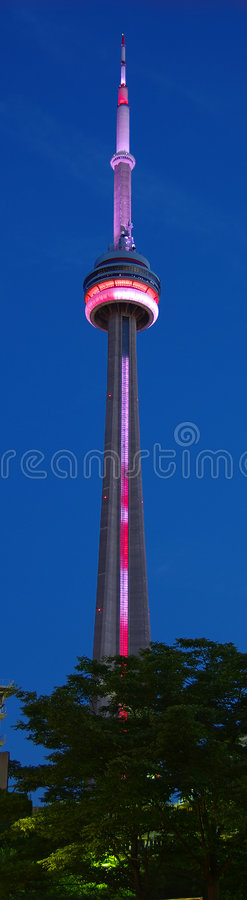 CN Tower. In Toronto, Canada stock photo
