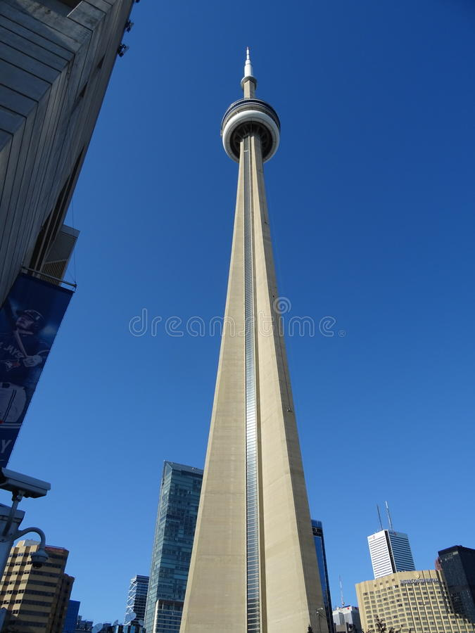 Free CN Tower A Toronto Stock Image - 96006871
