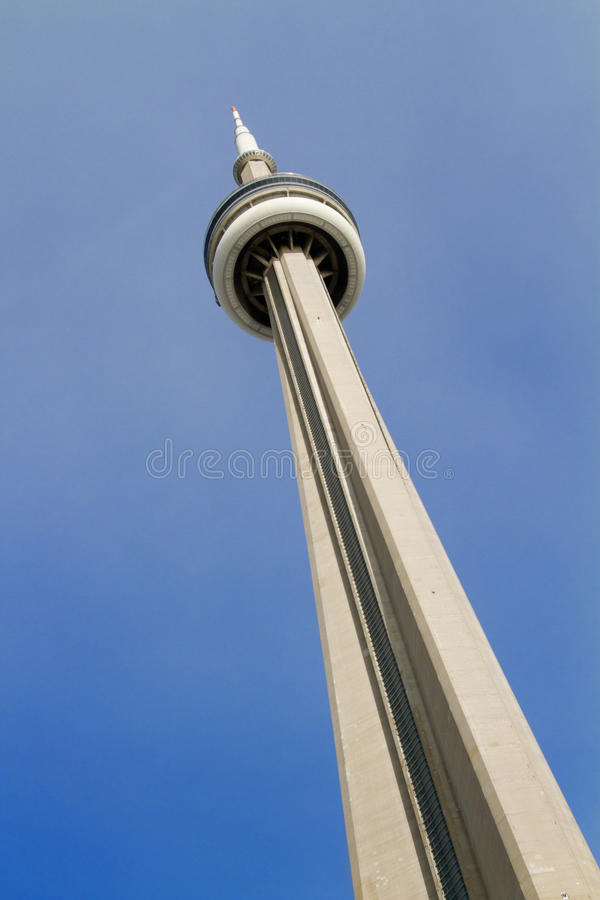 CN Tower Toronto Canada royalty free stock photography