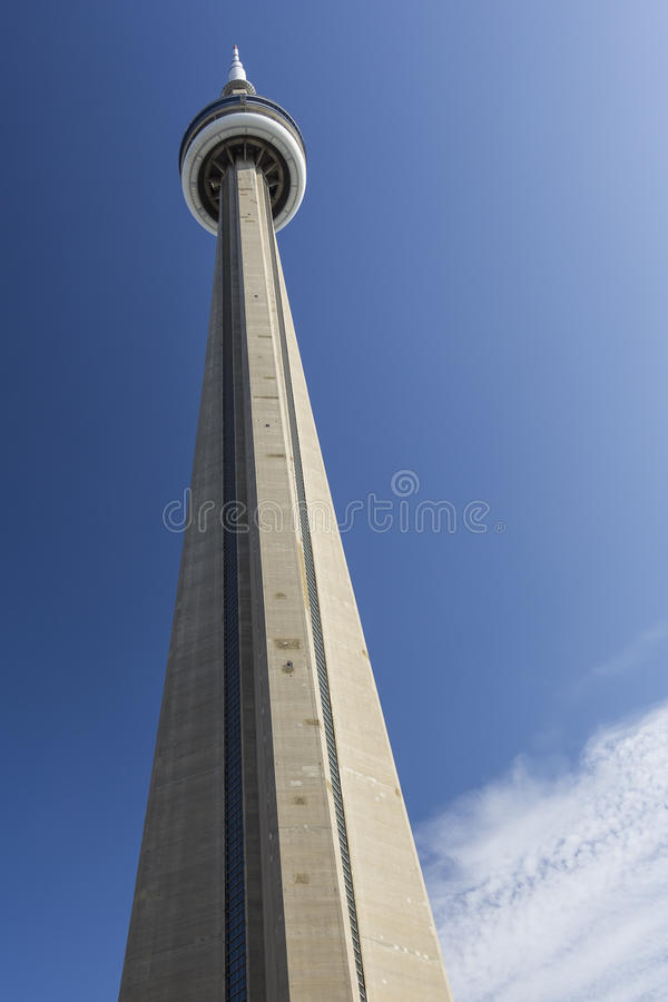 CN Tower. Toronto, Ontario, Canada stock photo