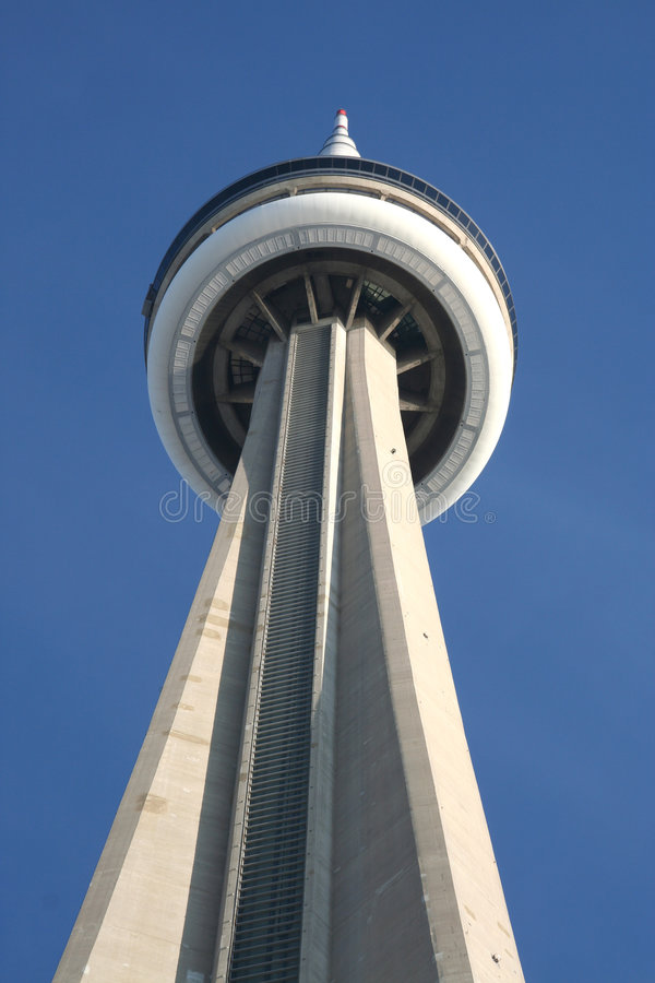 cn wierza Toronto fotografia stock
