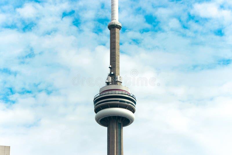 CN wierza w Toronto Kanada fotografia stock