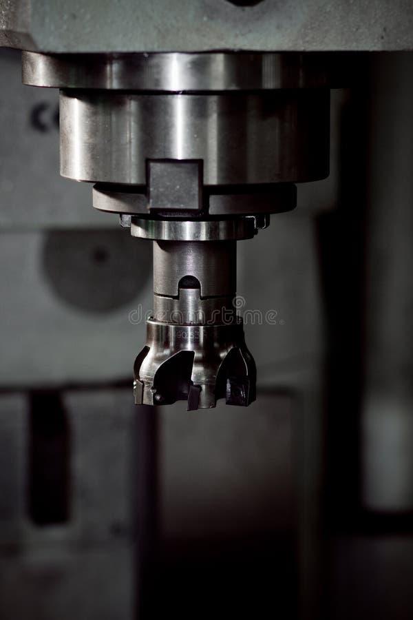 Cnc金属铣床 库存图片