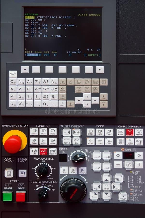 CNC Control stock photos