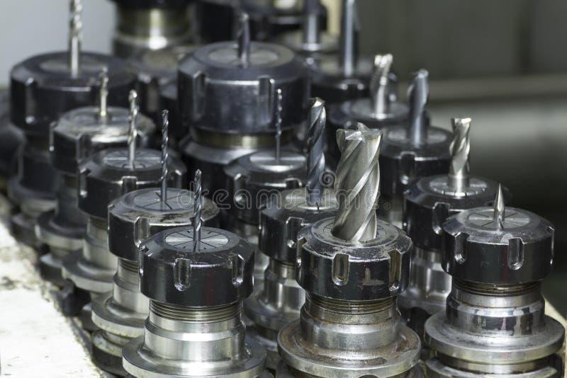 CNC dello strumento di fresatura immagine stock libera da diritti