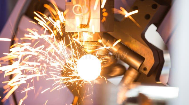 CNC gas cutting metal sheet. High precision CNC gas cutting metal sheet stock images